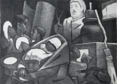 96 Jean Charlot original lithograph Figures 1951