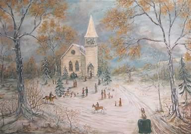 276: Pat Varner, Winter Time, 1997