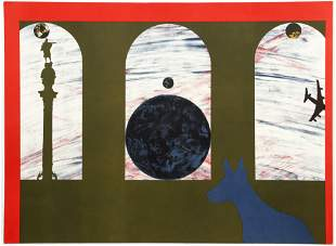 Billy Al Bengston Untitled 1988 Abstract Lithograph