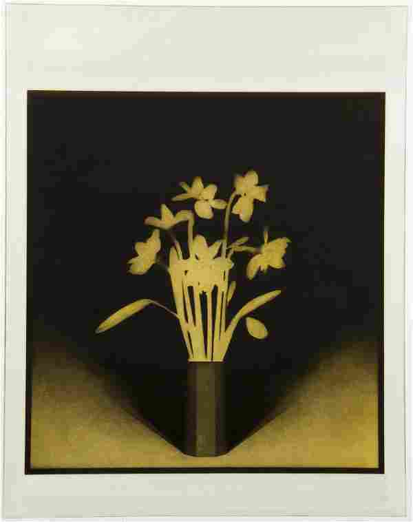 Alan Tinley Still Life Yellow Flowers 1978 Signed