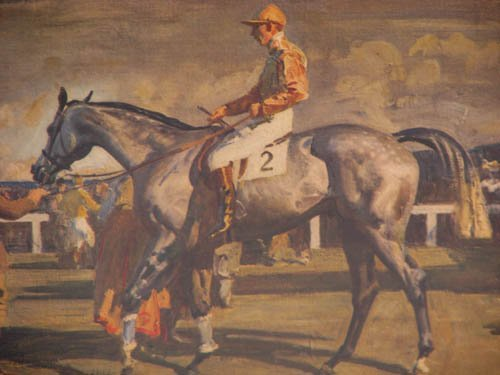 101:  signed Sir Alfred Munnings print After the Race - 4