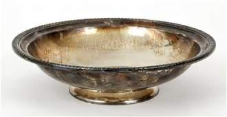 Large Gorham Sterling Bowl