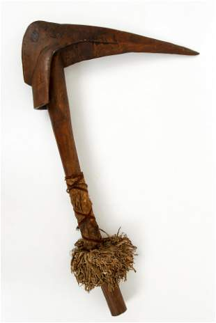 Oceanic or Sepik Rive Ceremonial Hornbill Ax