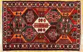 Bakhtiari Persian Tribal Rug 80 x 51 inches c.1940s