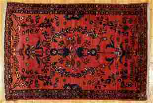 Antique Persian Lilihan Rug 73 x 53 inches c.1920s