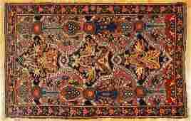 Semi Antique Eagle Kazak Caucasian Carpet
