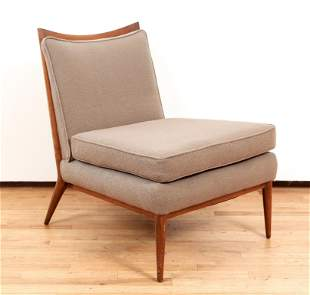 Paul McCobb Lounge Chair Fabric Upholstery MCM