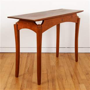 Paul Sirofchuck 1998 Cherry Console Table