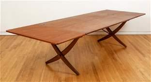 Hans Wegner Teak Drop Leaf Table AT-309