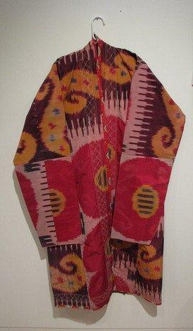 504: Antique Ikat dyed Coat