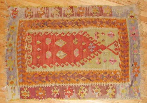 507: Turkish hand woven Kilim