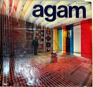 551: Agam Book by Frank Popper Signed by Agam, revised