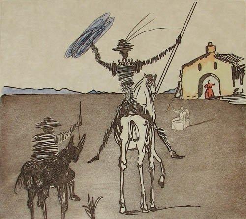 602: Salvador Dali, The Impossible Dream fr. Don Quicho