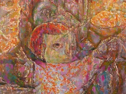 742: Samuel Rosenberg Emergence II painting - 3