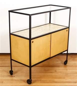 Frederic Weinberg Mid Century Modern Bar Cart
