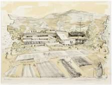 William Wegman Untitled Coffee Hacienda 1989 Lithograph