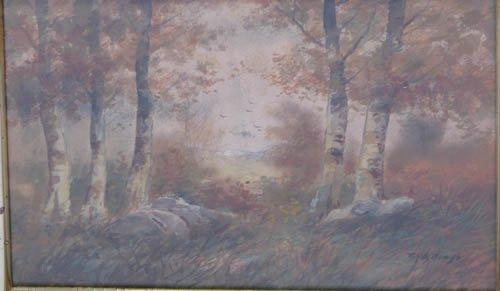 501: R. Hills Bemish w/c Forest Interior