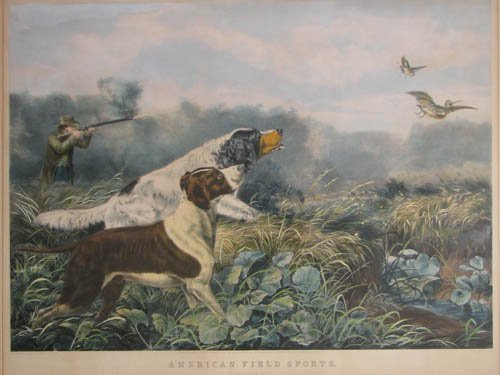 508: Currier and Ives American Field Sports: