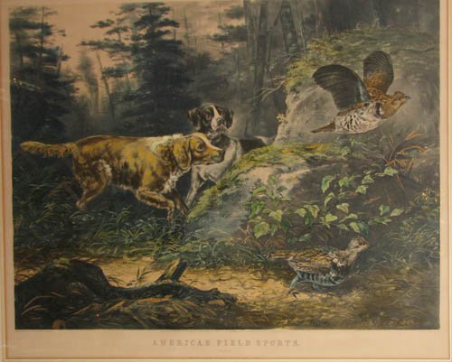 509: Currier and Ives American Field Sports: