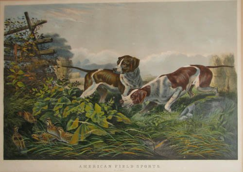 510: Currier and Ives American Field Sports:
