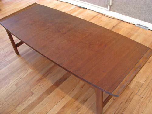 80: Lane Company Modern Walnut Coffee Table