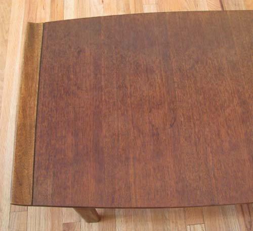 80: Lane Company Modern Walnut Coffee Table - 2