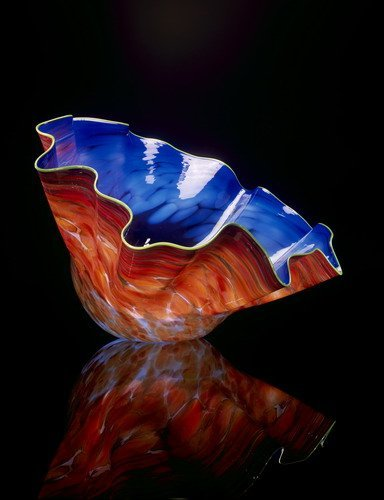 139: Dale Chihuly Blown Glass Macchia