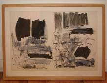 239: Joan Mitchell, original lithograph from The Fresh