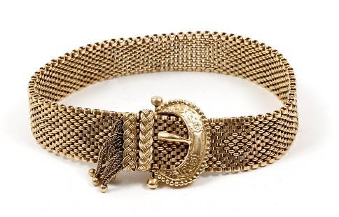 14K Victorian Slide Bracelet
