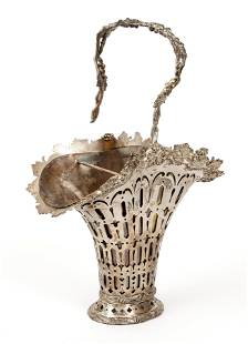 Sterling Silver Tiffany and Co Handled Basket