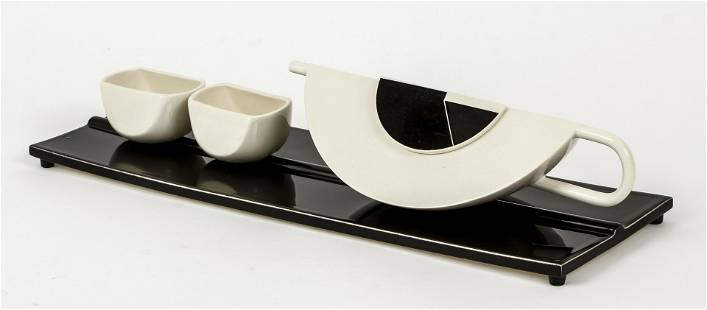 Marek Cecula Modernist Ceramic Tea Set