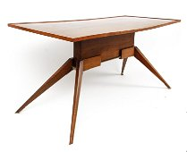 Jules Leleu coffee table in Prouve Style