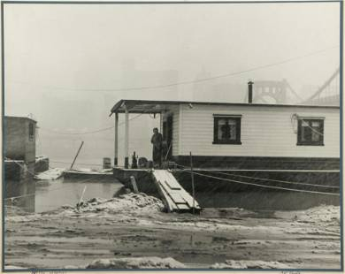 Orlando Romig vintage photograph Nasty Weather 1956