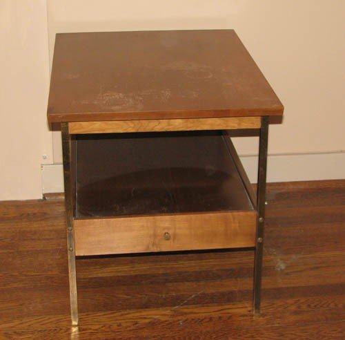 20: Modern Side Table with drawer