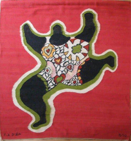 304: Niki de Saint Phalle Nana Power wall hanging rug