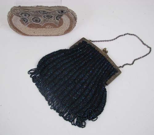 503: Pair of vintage beaded purses