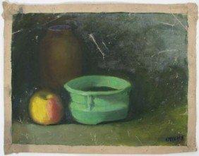 John Joseph Owens 1907 Still Life Painting