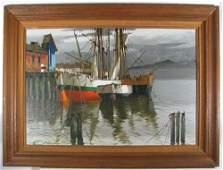 700: Hansen and Delasandre Harbor Scenes