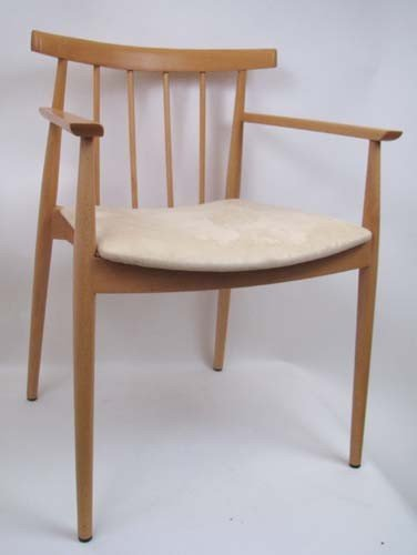 5: Danish Style Modern Maple Chair