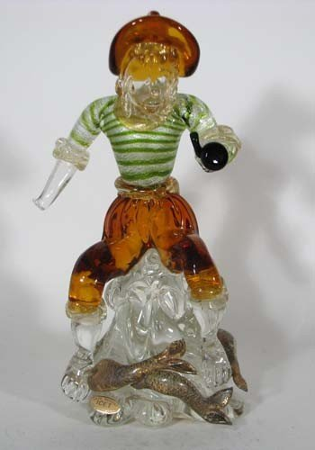 7: ICET Arte Murano Fisherman with Pipe