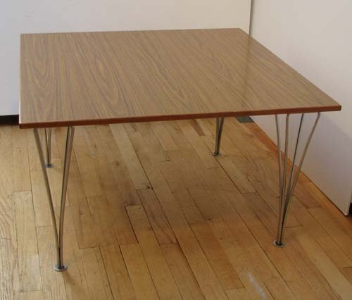 17: Piet Hein Mid Century Modern Coffee Table