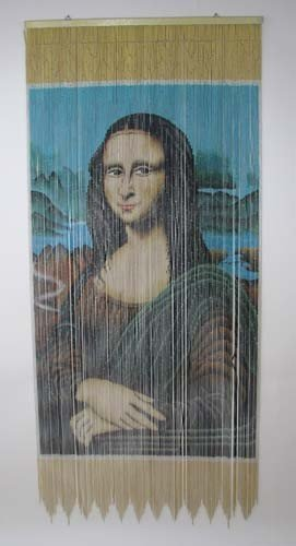 23: Beaded Doorway Curtain of Mona Lisa