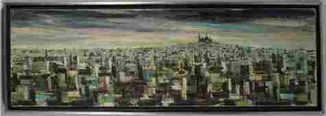 60 Modern Abstracted View of Montmartre to SacrCoeur