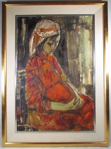 61: Israeli portrait of Pregnant Ruth