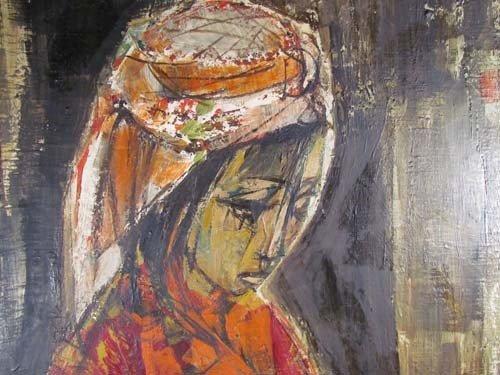61: Israeli portrait of Pregnant Ruth - 4