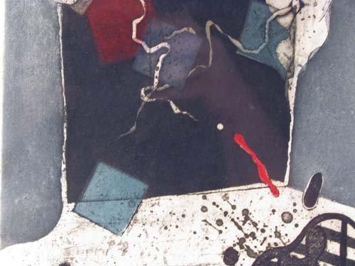 72: Tetsuo Araki Untitled color etching - 5