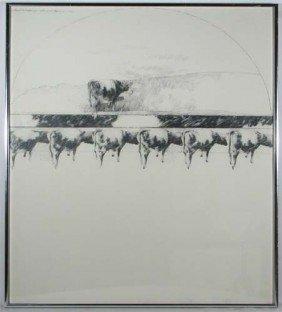 Karen Broker Sectional Landscape Drawing