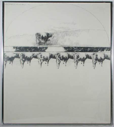 96: Karen Broker Sectional Landscape drawing
