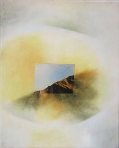 99: Marilyn Bruya Landscape drawing and collage