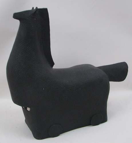 110: Jerry Caplan Ceramic Trojan Horse